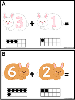 Add The Room Bunny  Sums To 10