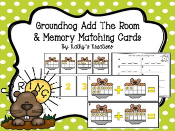 Add The Room Grondhogs & Memory Card Game
