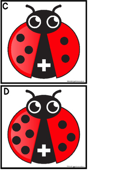 Add The Room -Lady Bugs (with memory game)