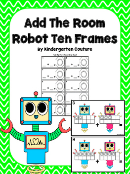 Add The Room Robot Ten Frames