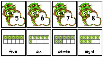 Add The Room St. Patrick's Day Owls & Memory Cards