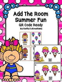 Add The Room Summer Fun (QR Code Ready) & Memory Cards