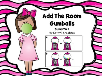 Add The Room Sums To 8 - Gumball