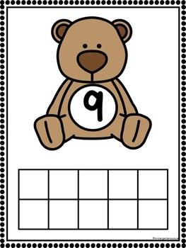 Add The Room Teddy Bears & Bonus Ten Frame Mats