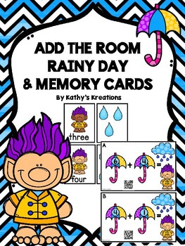 Add The Room To 10 -Rainy Day  & Memory Cards