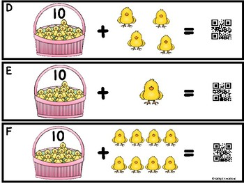 Add The Room To 20 -Little Chick (QR Code Ready) Counting On