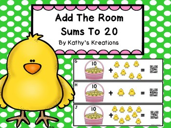 Add The Room To 20 -Little Chick (QR Code Ready)