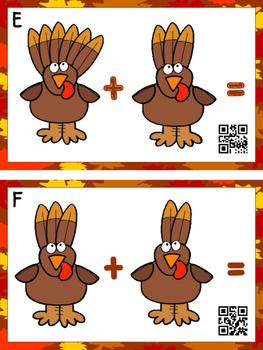 Add The Room Turkeys (QR Code Ready)