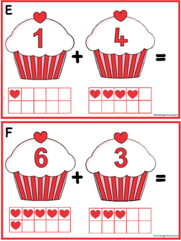 Add The Room -Valentine Cupcakes