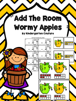 Add The Room Wormy Apples (Bonus Memory Matching Cards)