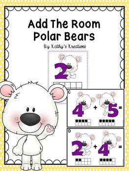 Add The Room Polar Bears & Ten Frame Mats