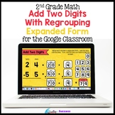 Add Two Digit Numbers by Decomposing Numbers (Expanded Form) with Regrouping