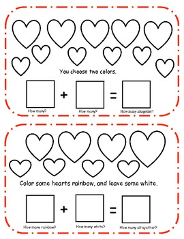 Add Up All the Love Mini Book