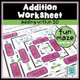 Add Within 20 Maze