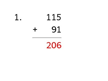 Add a 3-digit number to a 2-digit number (50 worksheets)