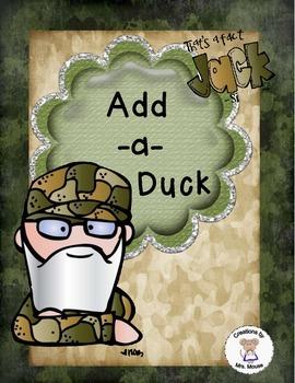 Math-Addition - Add-a-Duck