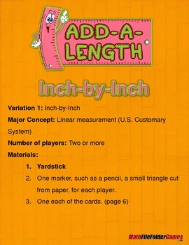 Add-a-Length: Linear Measurement Game