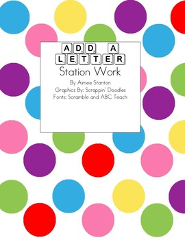 Add a Letter Station Work