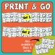 Word Work Task Cards: Fun Way to Practice Spelling Blends & Patterns