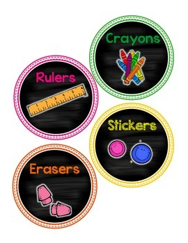 Add a Little NEON Color to Your Life: Classroom Decor Set