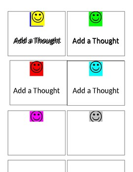 Conversation Cards 'Add a Thought'