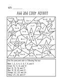 Add and Color Activity