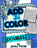 Add and Color Hidden Pictures {Winter Doubles Facts}