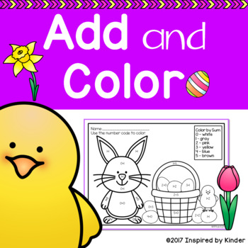 Add and Color by Sum {FREE SAMPLE}