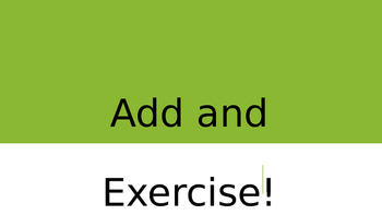 Add and Exercise Bundle