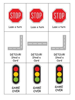 Add and Go!- Transportation Theme- 3 in 1 Game- Sums of 1-10 - CC Aligned
