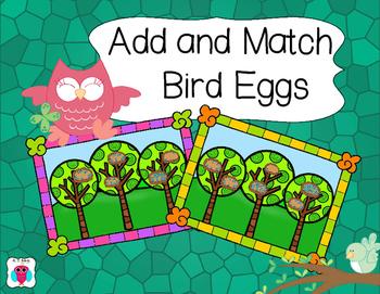 Add and Match Bird Eggs 0-20