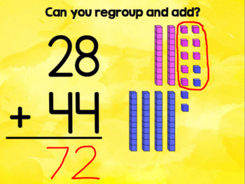 Add and Regroup {Activboard Practice}