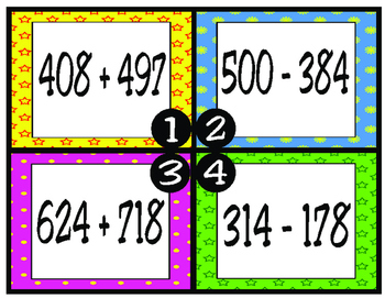 Add and Subtract 3-Digit Numbers