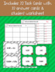 Add and Subtract Decimals Football Task Cards with Spinner Game