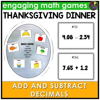 Add and Subtract Decimals Game