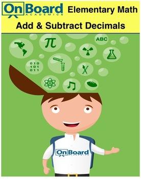 Add and Subtract Decimals-Interactive Lesson