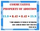 Add and Subtract Decimals 5th Grade My Math Vocabulary Posters