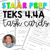 Add and Subtract Decimals TEKS 4.4A Task Cards