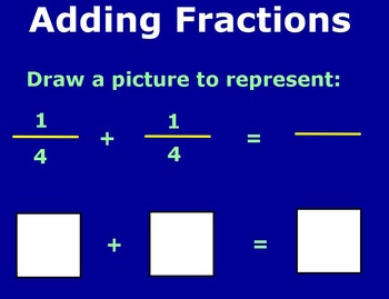 Add and Subtract Fractions, Unlike Denominators Flipchart