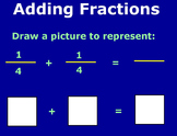 Add and Subtract Fractions, Unlike Denominators Flipchart