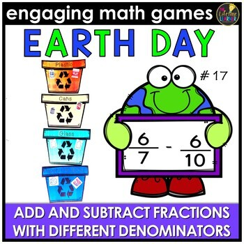 Add and Subtract Fractions (Different Denominators)
