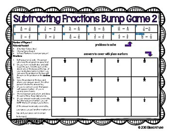 Fraction Games BUNDLE {8 Games}