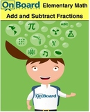 Add and Subtract Fractions-Interactive Lesson