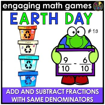 Add and Subtract Fractions (Same Denominators)