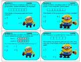 STAAR REVIEW 4th Grade Add and Subtract Fractions Minions Game