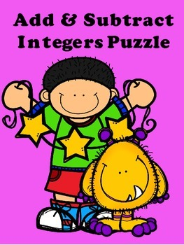 Add and Subtract Integers