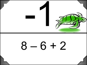 Add and Subtract Integers - Scavenger Hunt (Easier Problems)