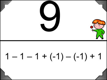 Add  and Subtract Integers - Scavenger Hunt (Harder Problems)