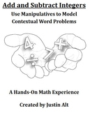 Add and Subtract Integers: Use Manipulatives to Model Cont