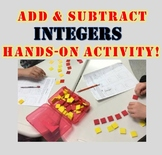 Add and Subtract Integers with Counters *Hands-On Exploration!*